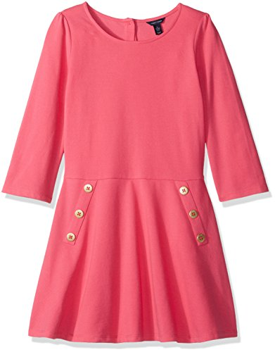 Tommy Hilfiger Girls Sleeve Solid