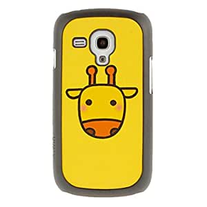 GHK - Cutty Cattle Drawing Pattern Protective Hard Back Cover Case for Samsung Galaxy S3 Mini I8190