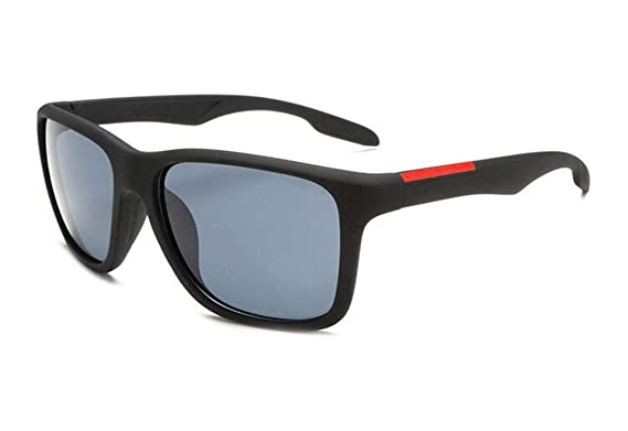 Globaltrade001 Unisex Gafas de Sol Polarizada Cuadradas ...