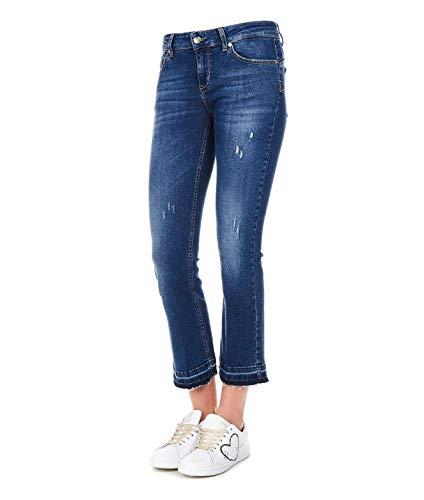 U19118d425577651 Jeans Bleu Femme Liu Coton qBdwHxaFaE