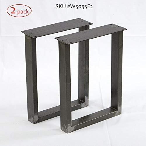 W5033e2 Bench Legs U Shape 2 Pack Narrow Coffee Table Legs By