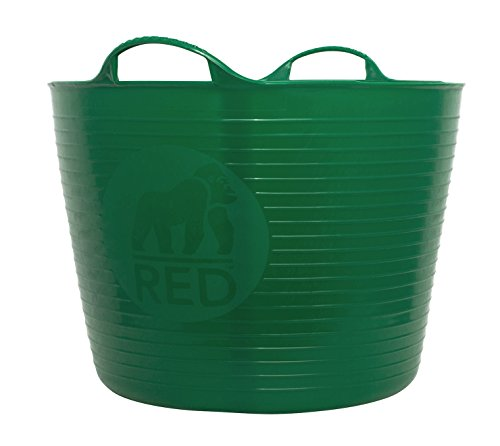 TubTrug SP42G Large Green Flex Tub, 38 Liter - Extra Large Bucket