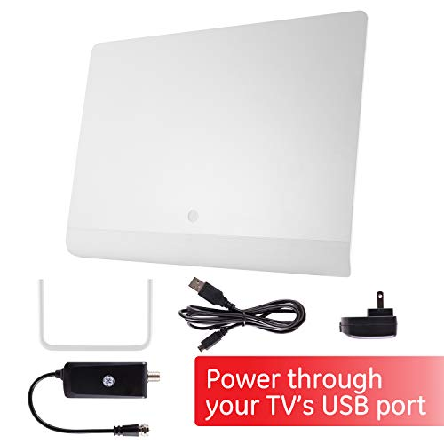 GE Pro Flat Indoor TV Antenna