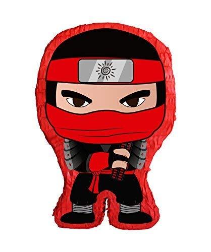 Aztec Red Ninja Kid Pinata
