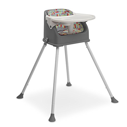 Delta Children Perfect Fit Multi-Use High Chair, Grey by Delta Children