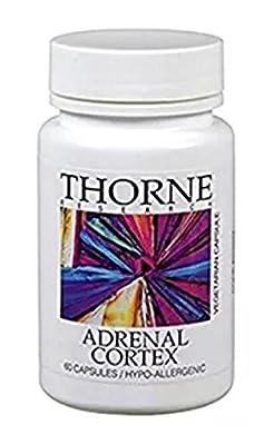 Thorne Research Adrenal Cortex 60 Vegetarian Capsules
