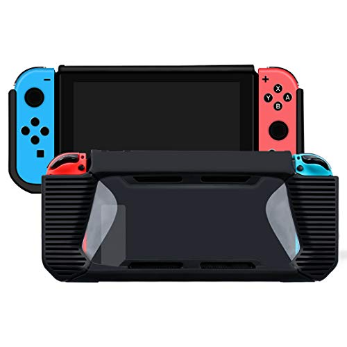 BHO Protective Case for Nintendo Switch, With a Shock Absorbption and Scratch Resistant edging TPU Housing, Better Protection of the Nintendo Switch 2017, More Comfortable Grip