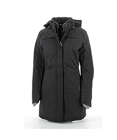 Tucano Urbano Brigitte Barbet - traspirante, antivento e impermeabile 3/4 lunghezza giacca da donna imbottita, Nero, L Tucano Urbano S.r.l. 8908WF021N5