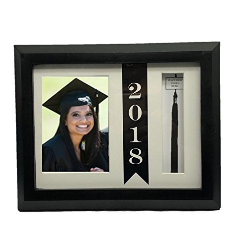 Cause of Graduation of 2018 Picture Beveled Frame with Hat Tassel Holder for $<!--$39.97-->