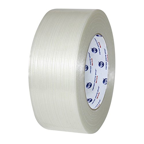 Filament Reinforced Tape 3'' x 60 Yards 3.9 Mil Fiberglass Packing Tapes Choose your Rolls (2 Cases = 32 Rolls) by Shield