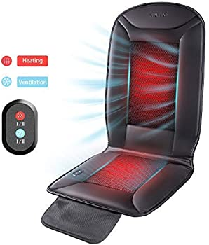 Naipo 2-in-1 PU Leather Car Seat Warmer and Cooler