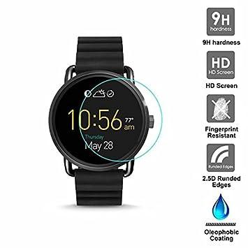 KAIBSEN® Per Fossil Q Wander Smart Watch 2.5D protector de ...