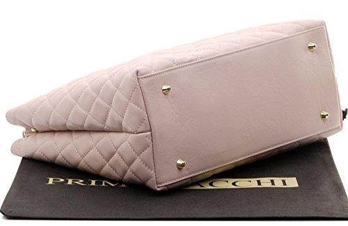 comprend italien un cuir poignées sac protecteur Fabriqué classique diamant chaîne sac en artisanal à forme Rose et avec la en cuir bracelet de rangement main métal marque main Design à rembourrée IwSXgSnq