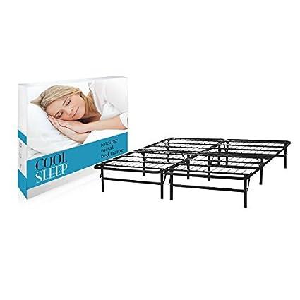 Amazoncom Lifetime Sleep Products Metal Platform Bed For Memory