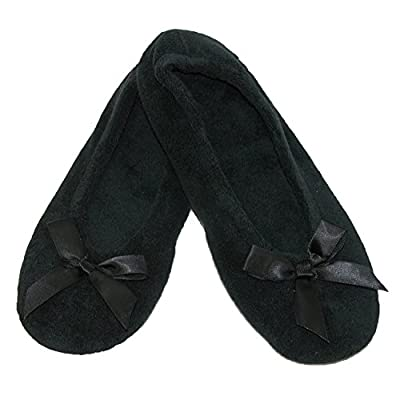 isotoner Women's Terry Classic Ballerina Slippers (Pack of 2) | Slippers