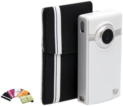 Flip Soft Pouch for Flip Ultra and Mino Camcorders Black