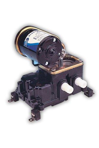 Jabsco 36600-0000 Marine PAR Diaphragm Belt Drive Bilge Pump, 480 GPH, 12 Volt