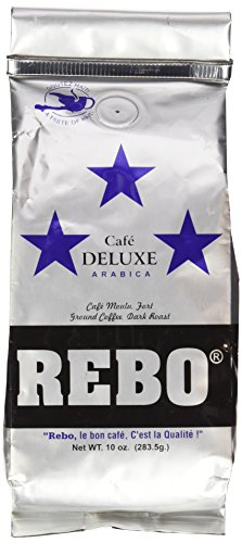 Cafe Rebo Deluxe Dark Roast - 10 oz
