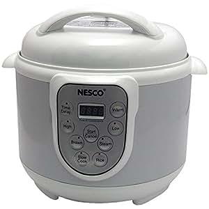 Nesco PC4-14 4-in-1 Digital Pressure Cooker, 4-Quart