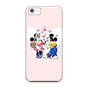diy phone caseHot Style VnE2028EEsi Protective Case Cover For Iphone5c(mickey And Minnie Valentines Couple)diy phone case