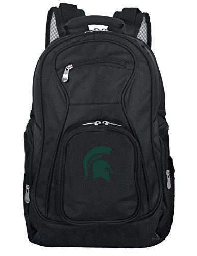 Denco NCAA Michigan State Spartans Voyager Laptop Backpack, -