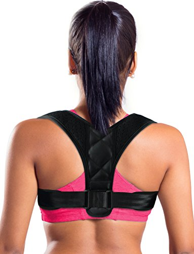 Figure 8 Posture Corrector Back and Shoulder Support Brace for Women & Men, Helps to Improve Posture, Prevent Slouching and Relieve (Spin Top Ashtray)