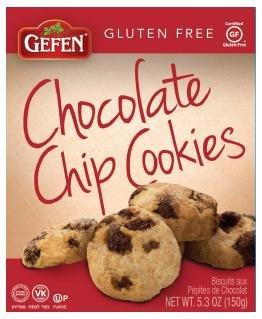 Gefen Chocolate Chips Cookies 5.3 Oz, Kosher for Passover