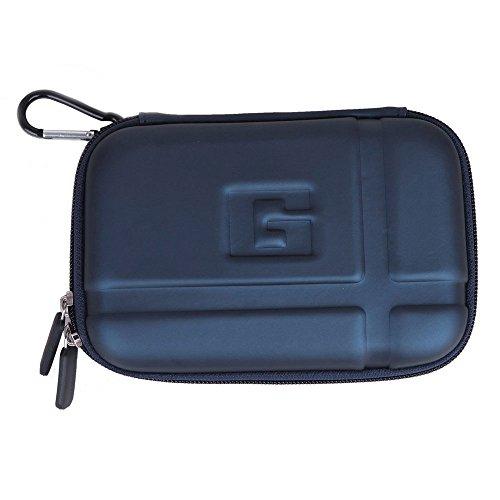 niceeshop(TM) Dunkelblau Allgemein EVA PU Hard Case Schutztasche für 5.2 Inch TomTom Garmin GPS Navigator