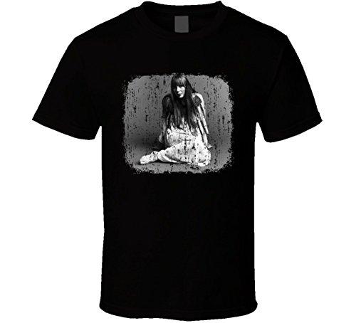 Joni Mitchell 70s Celebrity Icon Sexy Vintage Worn Look T Shirt S (Joni Mitchell T-shirts)