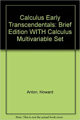 Calculus Early Transcedentals Brief 7th Edition With