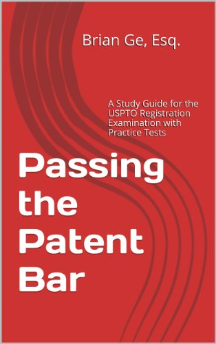 Amazon passing the patent bar a study guide for the uspto passing the patent bar a study guide for the uspto registration examination with practice tests fandeluxe Image collections