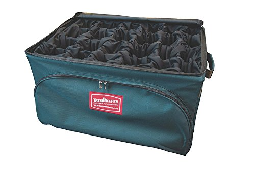 Tree Keeper TK-10708 Plush Velour Lined Adjustable Ornament Storage Bag (Storage Lined)