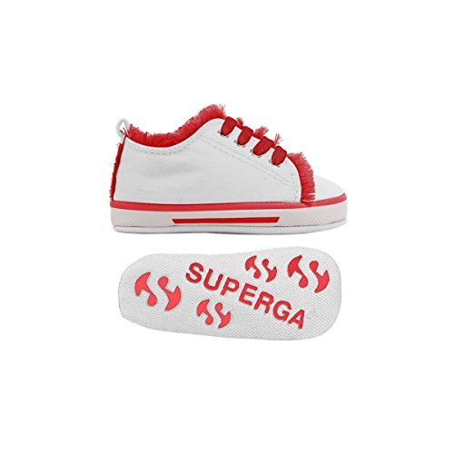 Sneakers - 4090-cotb - Bambini - White-Red - 22