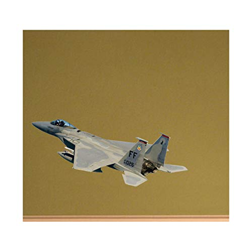 (Navy F-15 Eagle Fighter-Jet Decal Version Two - 4.5