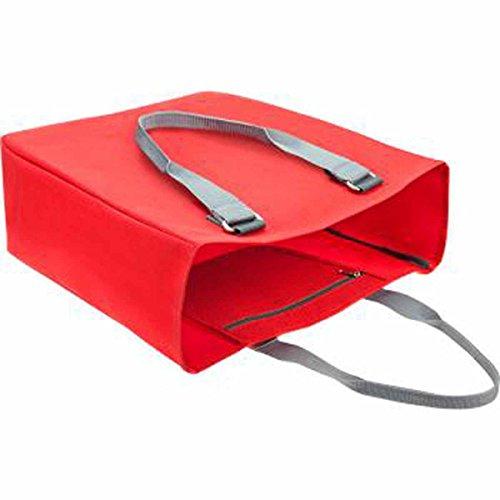 HALFAR-Borsa shopping 1807781, unisex, arancione rosso