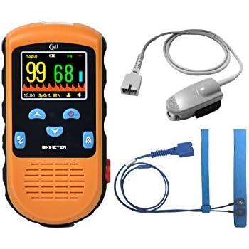 Amazon com: Contec CMS50F Wrist-worn Pulse Oximeter with Software
