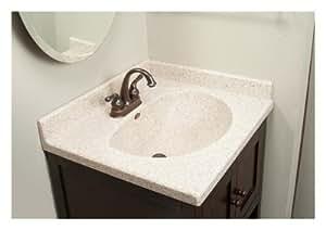 Imperial VB3122CAPSS Olympic Oval Bowl Bathroom Vanity Top ...