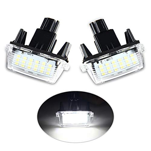 Toyota Yaris MK1 White LED Superlux Side Light Beam Bulbs Pair Upgrade
