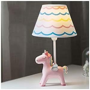Amazon.com: YYF Unicorn - Lámpara de mesa para habitación ...