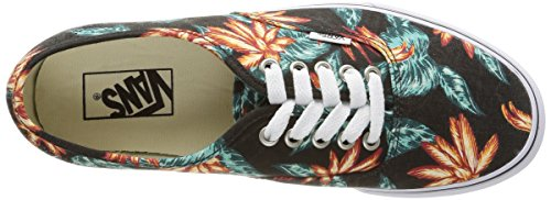 Vans Authentisch (Vintage Aloha) Schwarz / True White