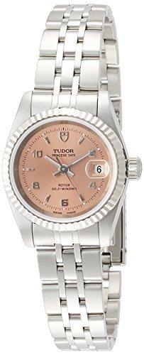[Tudor] Tudor reloj Prince FECHA rosa Dial 18 K Blanco Oro Bisel Self-winding 92414pk5ar Ladies [paralelo mercancías de importación]: Amazon.es: Relojes