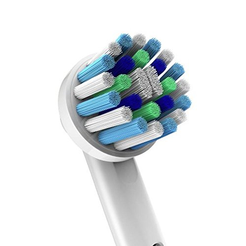 Oral B Braun Compatible Replacement Brush Heads - Pack Of 12 Electric Toothbrush Assorted Heads - Includes 4 Floss Action, 4 Pro White & 4 Cross, more.. - Try Them All You'll Find Your Favorite by Pearl Enterprises (Image #5)
