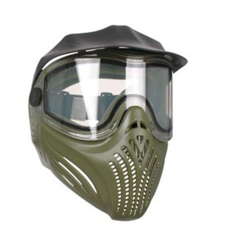 Helix Thermal (Empire Helix Thermal Lens Paintball Mask - Olive Green)