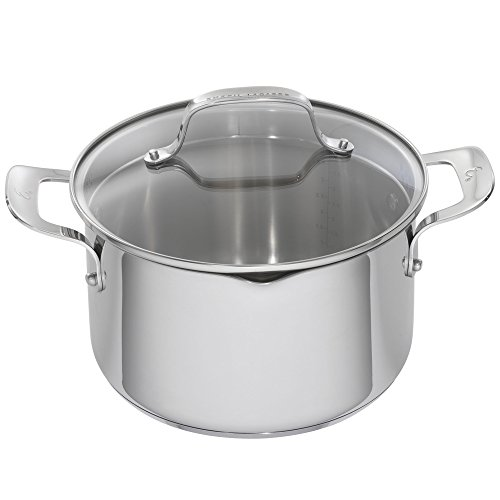 Emeril Lagasse 62958 Stainless Steel Dutch Oven, 5-Quart, - Dutch Copper Steel Stainless Oven