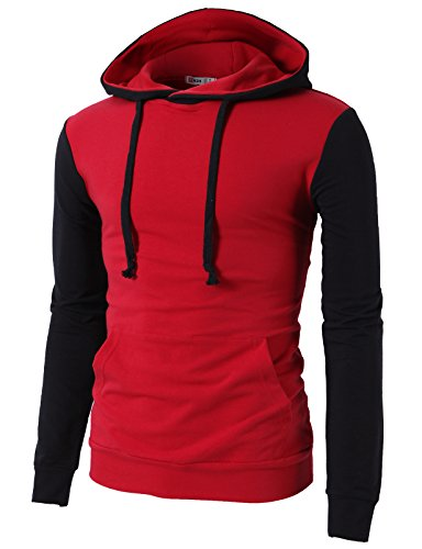 Red Athletic Pullover - 7