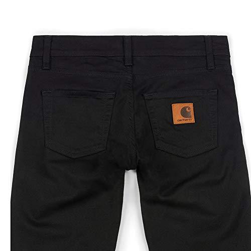 32l Noir Carhartt Stretch Rebel Rinsed Pantalon Homme 30w Twill T8PAq