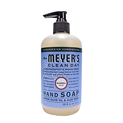 Mrs. Meyer's Liquid Hand Soap, Bluebell, 12.5 Fluid Ounce