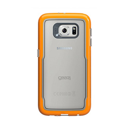 new york 111a4 67148 Gear 4 GS6060D3 D30 Icebox Case for Galaxy S6 - Transparent/Orange
