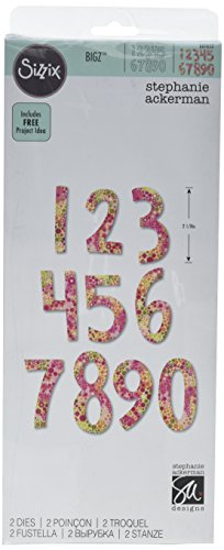(Sizzix 661653 Bigz Alphabet Set, Multicolor)