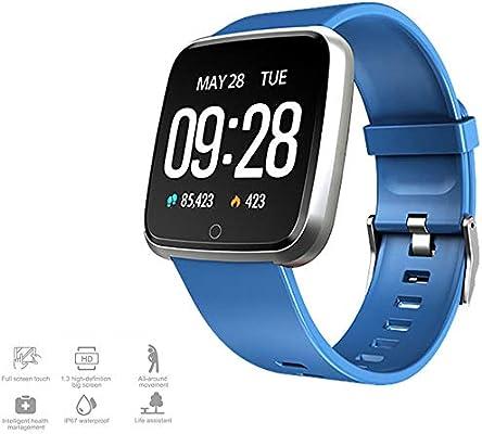 MHCYKJ Fitness Tracker Smart Watch Men 1.3inch IPS Display ...
